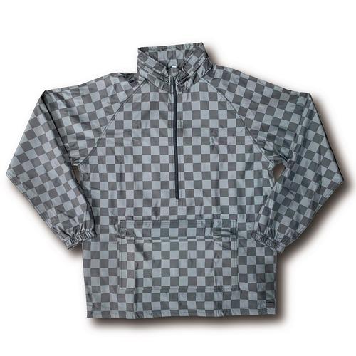【YBC】市松 Front Pocket 1/4 Half Zip Jacket