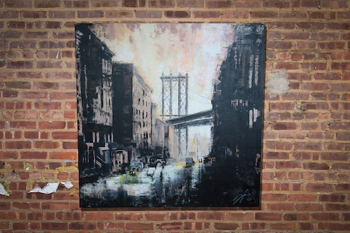 old Brooklyn, scape composition (額入り特別作品)