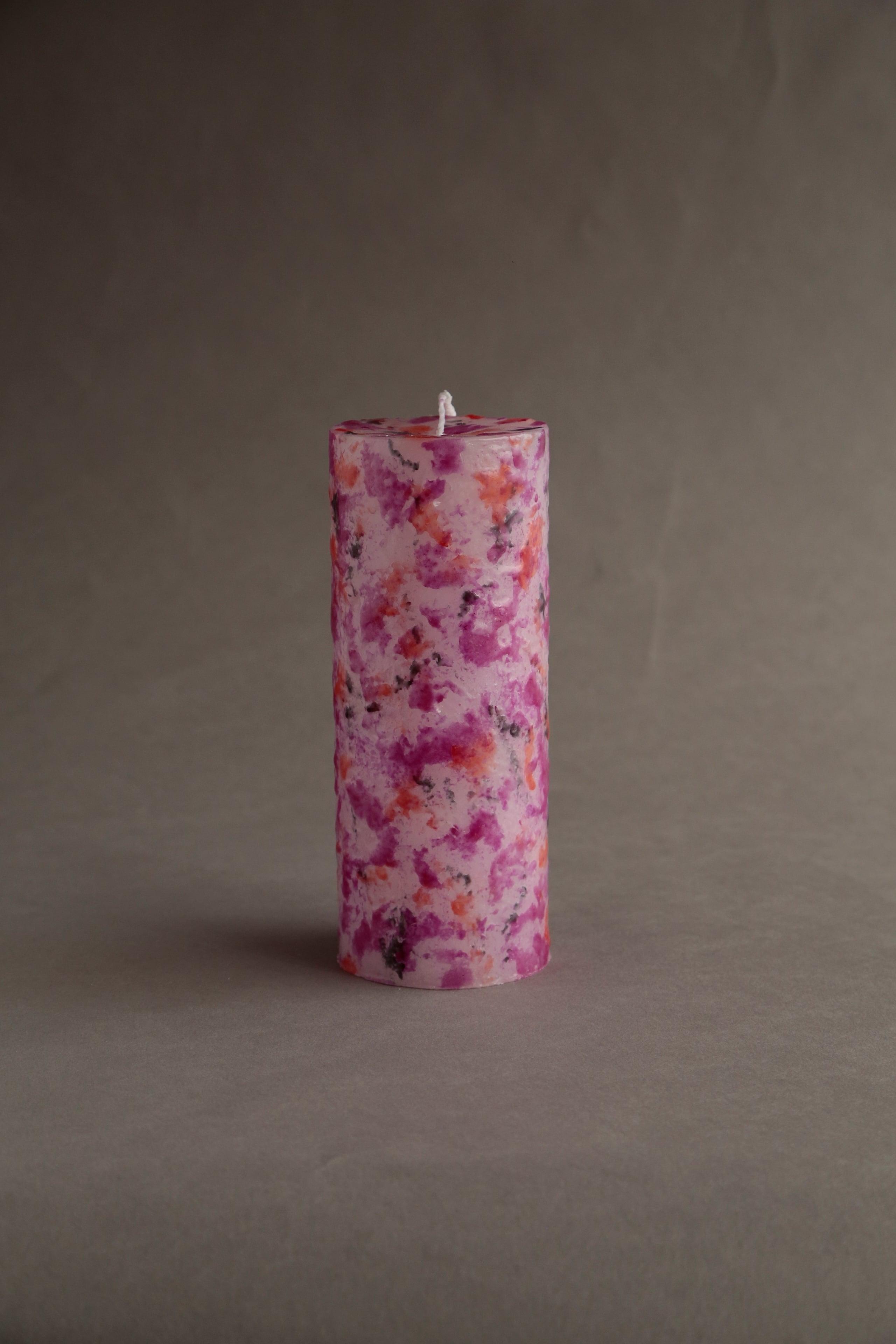 No.606 MIX (cylinder76-L-4000)  candle キャンドル