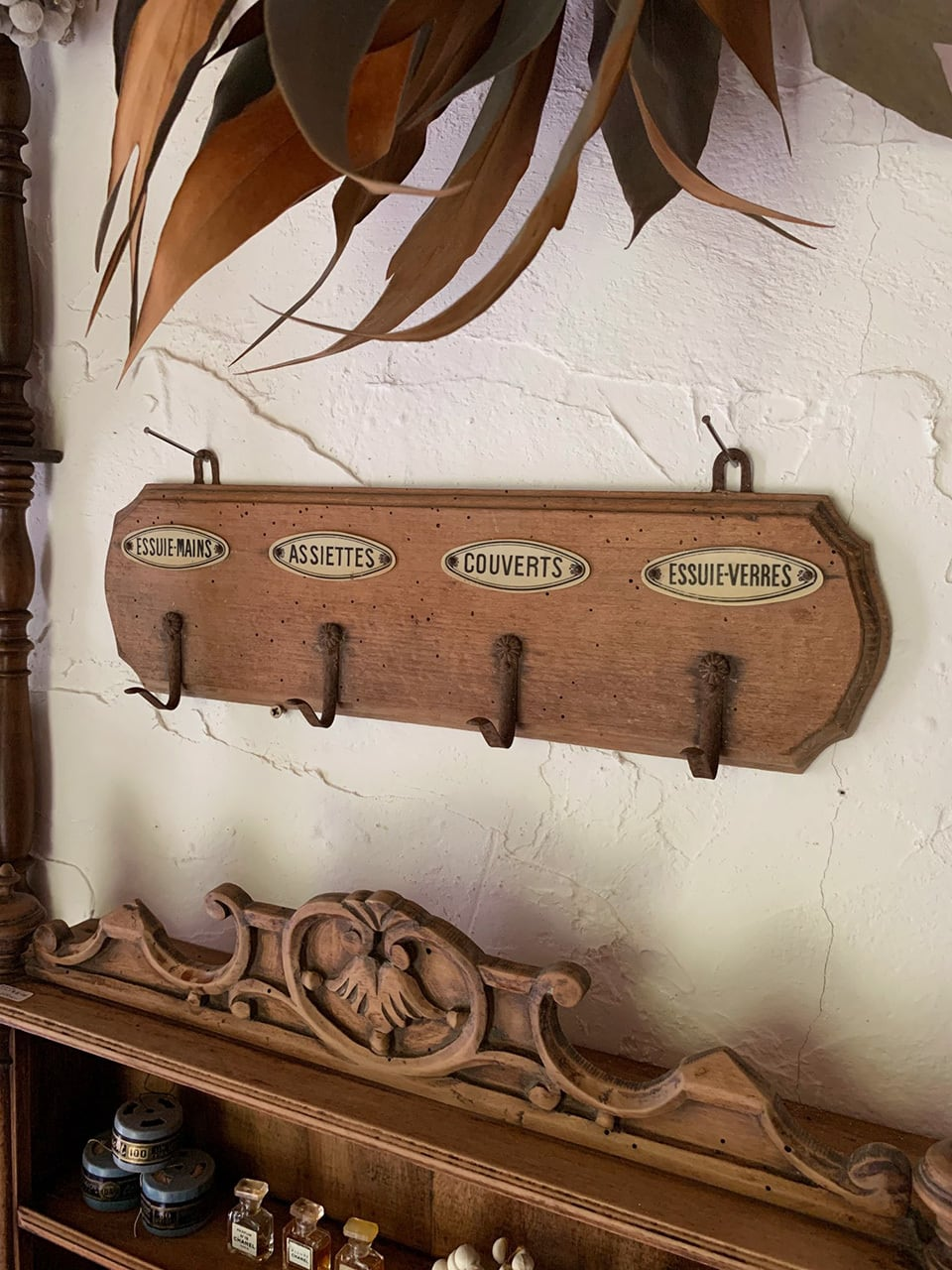 木製トーションフック