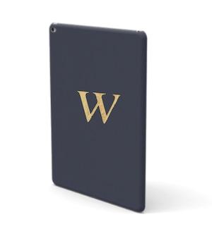 iPad Premium Smooth Leather Case (Midnight Blue)