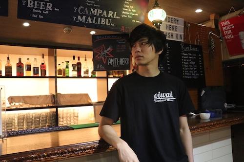 Tシャツ Black×White