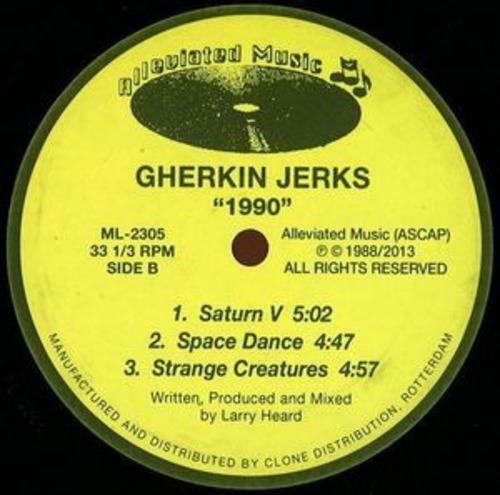 """【ラスト1/12""""】GHERKIN JERKS - 1990 EP -Repress-"""