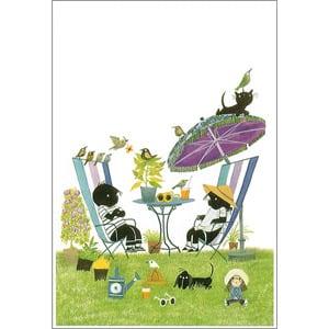 ポストカード 夏の午後(FO_PO_10068)