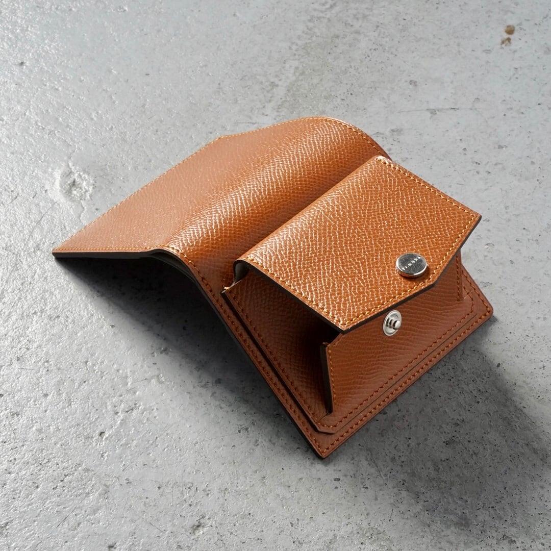 ミニ財布<Shaula / S - type> キャラメル
