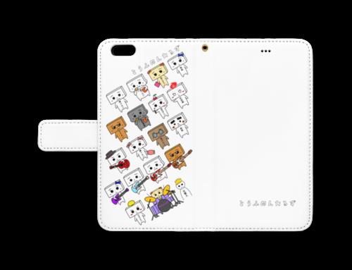 とうふめんたるず手帳型iPhoneケース 6 Plus / 6s Plus