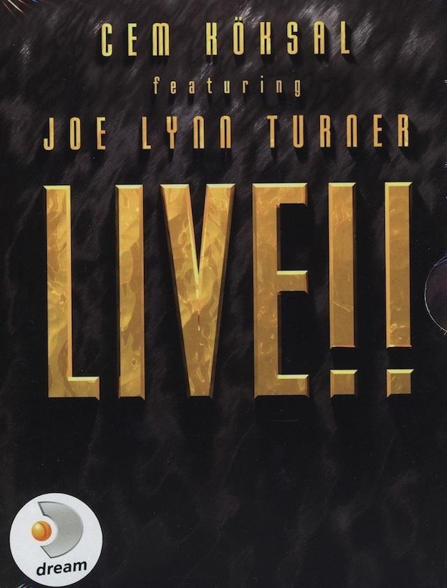 """CEM KOKSAL featuring JOE LYNN TURNER """"Live!!"""" DVD / PAL (輸入盤)"""