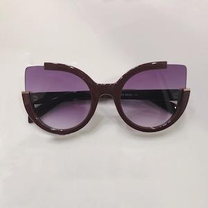 Eyewear♡バタフライ02  ブラウン