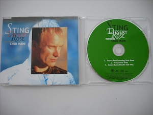 【CD single】STING / DESERT ROSE (3track)