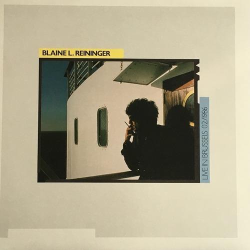 【LP・ベルギー盤】Blaine L. Reininger  /  Live in Brussels