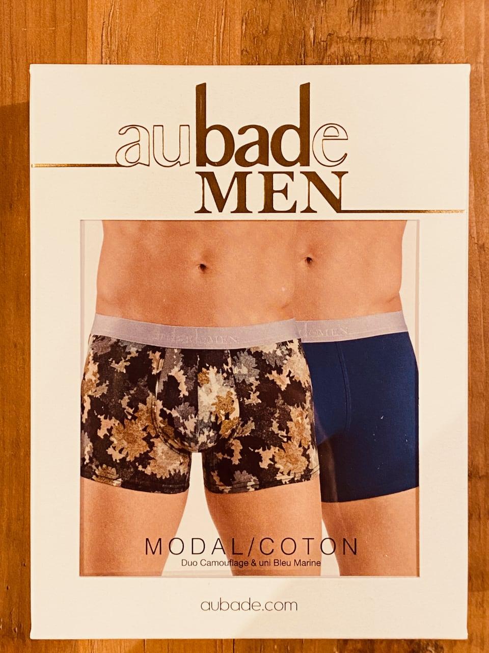 【aubade MEN】メンズボクサー(2枚組) COMOUFLAGE  サイズM
