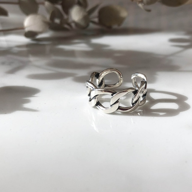 ◆即納◆【フリーサイズ】 シルバーリング Silver925 Hoop Ring AR-S-3