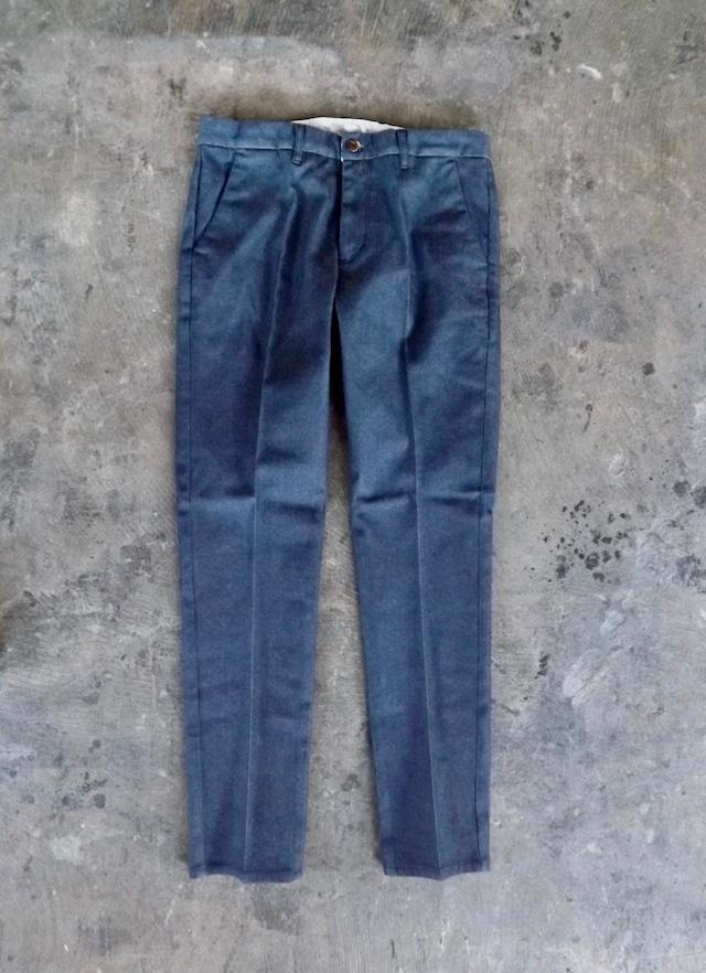 Mens  [CM001-Long]  Denim trouser-Long ver  デニムトラウザー  岡山製クロキデニム,ストレッチ,日本製.丈詰め無料