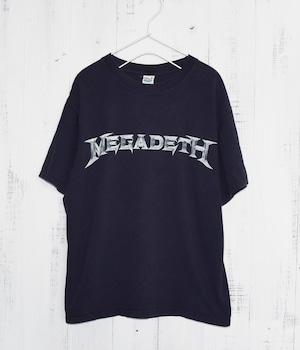USED BAND T-SHIRT -MEGADEATH-