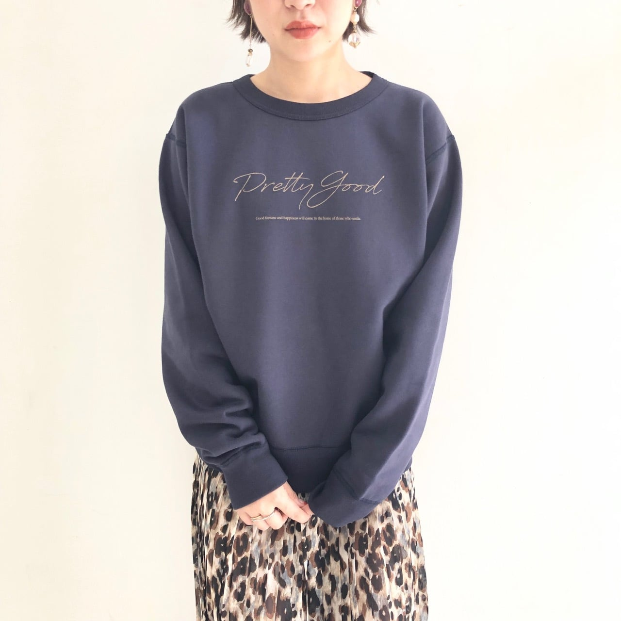 【 for the people 】- 193-009018 - Heavy duty sweatトレーナー