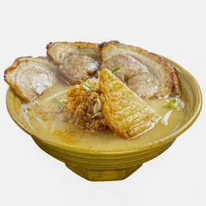 九州麦味噌炙りチャーシュー麺