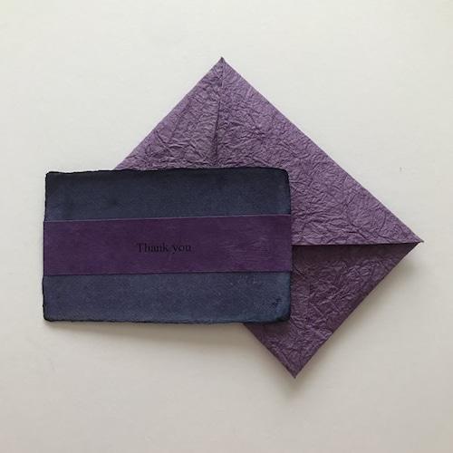 和紙のサンキューカード(Thankyou009)