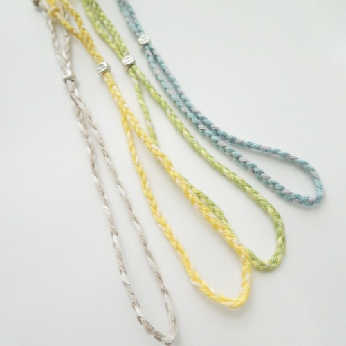 B_002 bamboo bracelet(pastel)