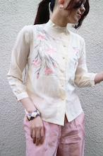 Rayon flower china tops