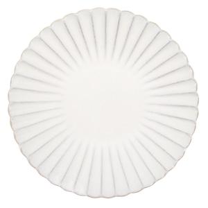aito製作所 「花 hana」プレート 皿 23cm L ぎんはく 瀬戸焼 288148