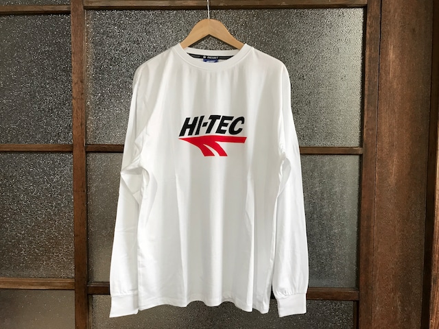 HI-TEC HTS x PACCBET LOGO L/S TEE (WHITE)