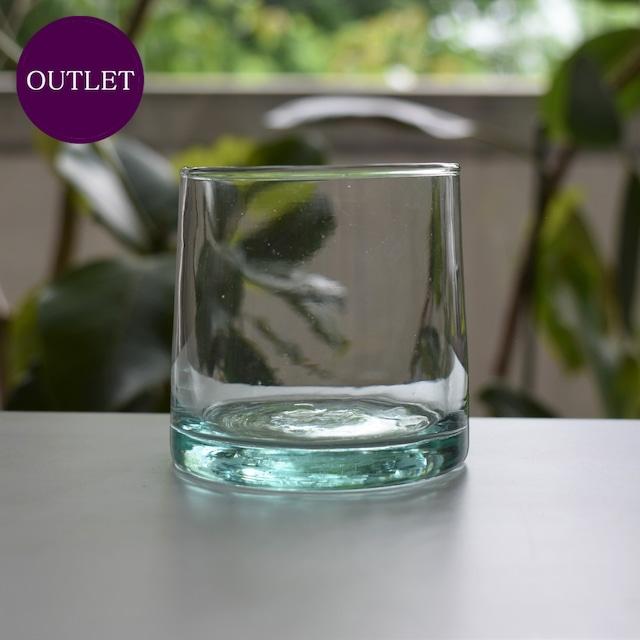【OUTLET・ランクC】モロッコガラス タンブラー S
