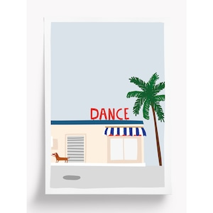 Taxi Brousse - Poster - DANCE (A4)