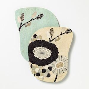 moritaMiW/MiWポストカード/ゆたりの花壇 M-67658-00-1