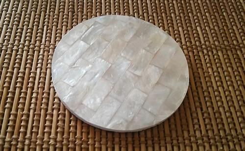 シェルコースター 白 インドネシア