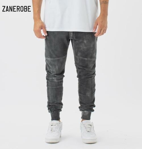 ゼインローブ ジョガーパンツ スウェットパンツ メンズ 日本企画モデル ZANEROBE SURESHOT FLEECE JOGGER BLACK MARBLE