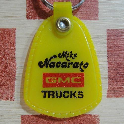 アメリカ GMC TRUCKS[ジーエムシー トラックス]自動車メーカーノベルティキーホルダー