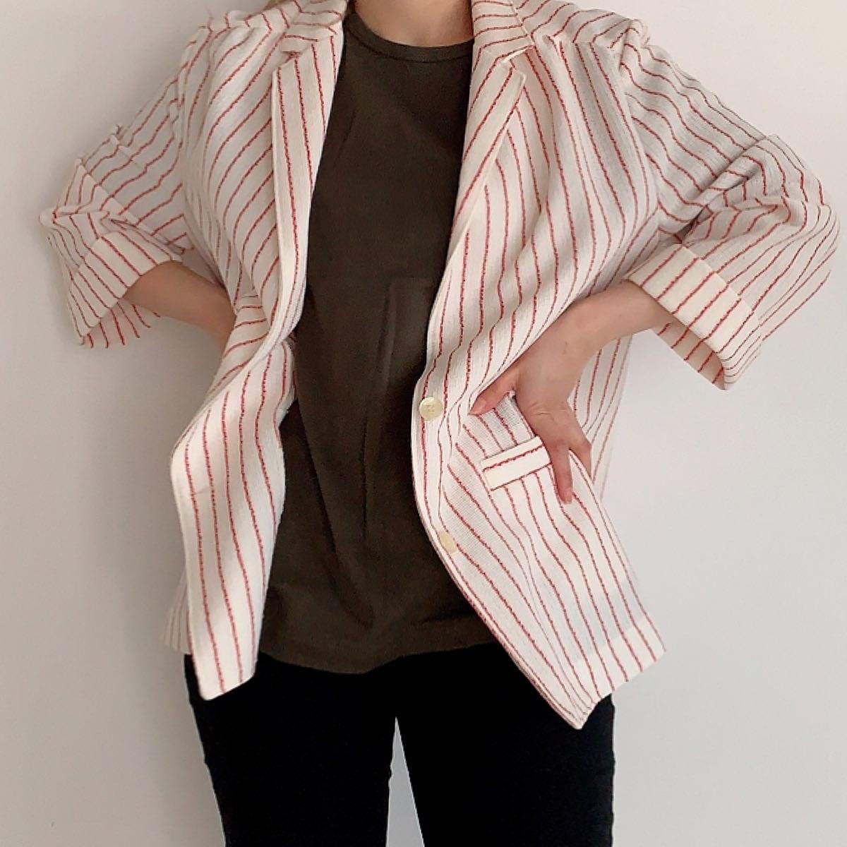USA vintage stripe jacket