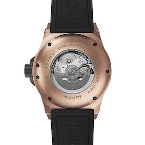 【HYDROGEN WATCH ハイドロゲンウォッチ】HW424406/VENTO ヴェント(ブラック×ゴールド)/国内正規品 腕時計