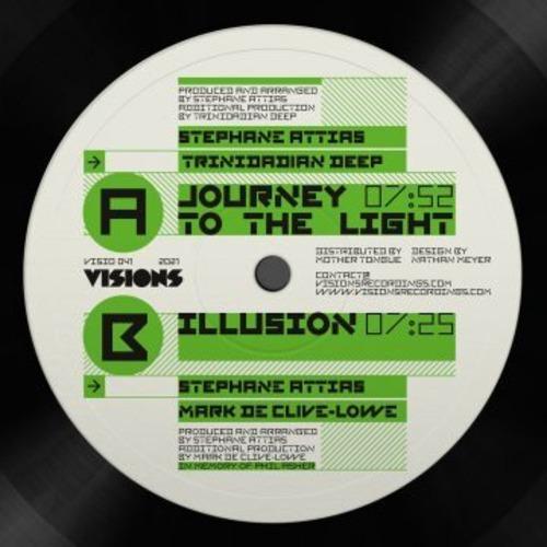 """【ラスト1/12""""】Stephane Attias(feat. MdCL, Trinidadian Deep)- Journey To The Light / Illusion"""
