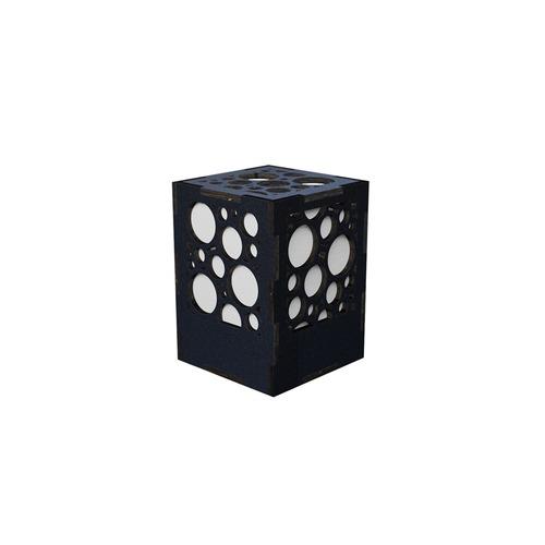 ミニ行灯 バブル - 置き型照明 Sサイズ ブラック