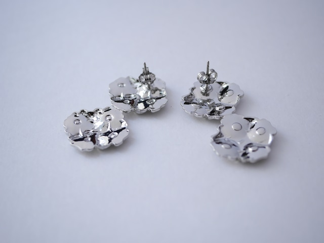 【nity】select10 ピアス or イヤリング eight flower_silverpierces_l _silver