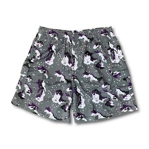 【YBC】Desert Cargo Shorts Purple