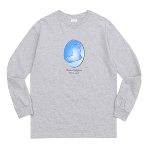WHIMSY / YEAR BOOK L/S TEE -HEATHER GREY-
