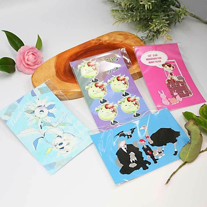 ゾンビとカメ ポストカード(セット)