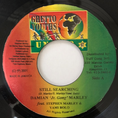 "Damian ""Jr. Gong"" Marley - Still Searching【7-20575】"