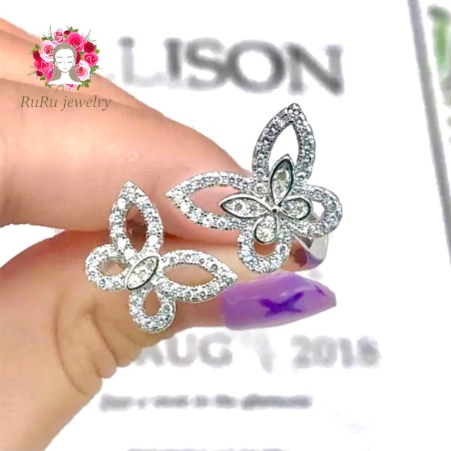 butterfly ring / free size