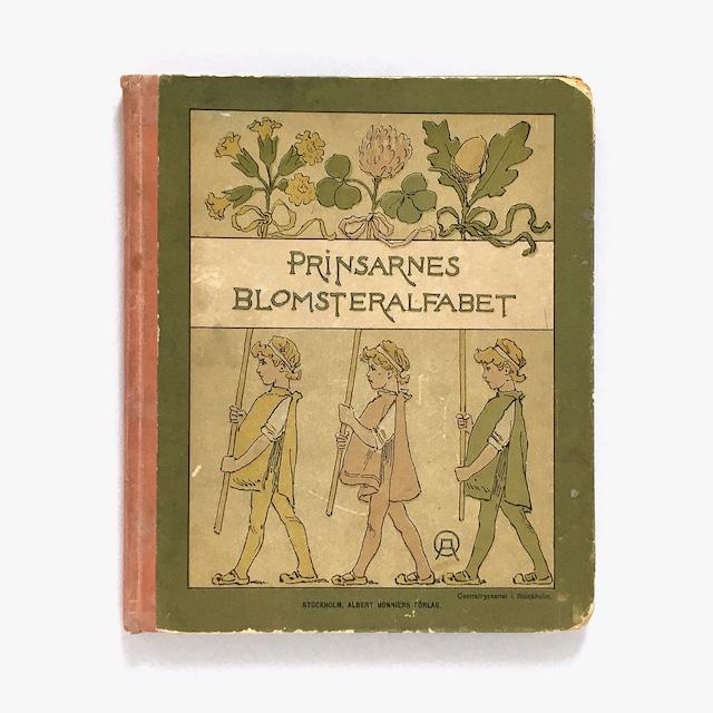 オッティリア・アーデルボリ「Prinsarnes Blomsteralfabet(王子たちの花文字)」《1901-01》