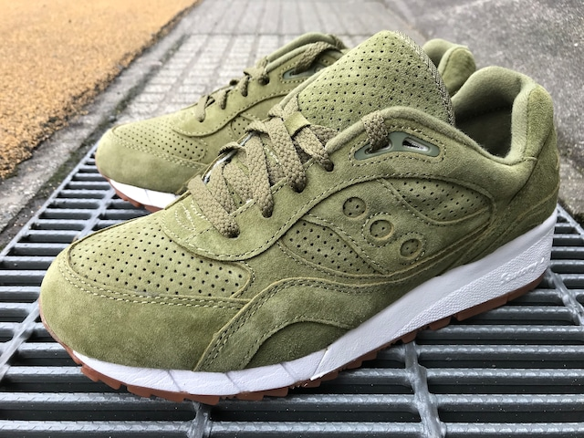 SAUCONY x PACKER SHOES SHADOW 6000 (OLIVE)