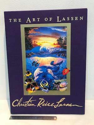 限定版 献呈メッセージ エディションナンバーとサイン THE ART OF LASSEN  クリスチャン・ラッセン