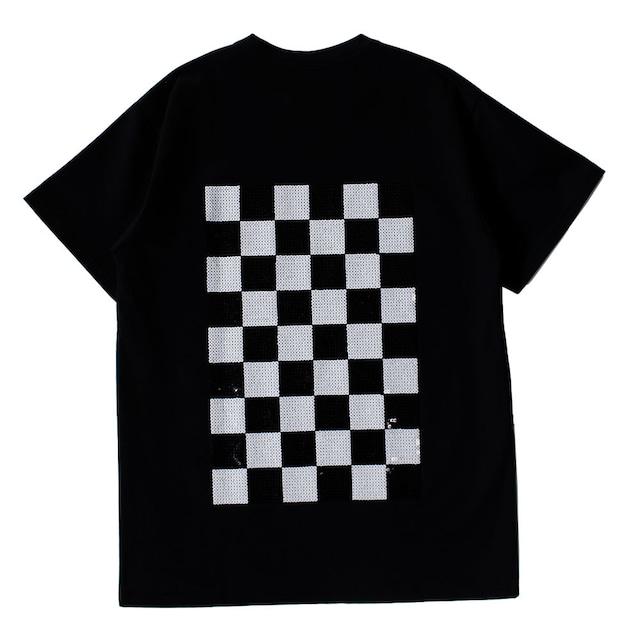 BORDERS Checkers Tee Back