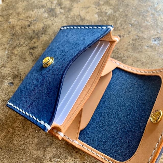Compact Wallet /Alaska Leather