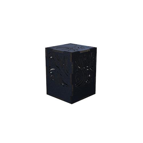 ミニ行灯 レギオン - 置き型照明 Sサイズ ブラック