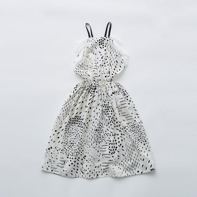 eLfinFolk QiLin pinafore dress (white) 110 130  elf-211F09