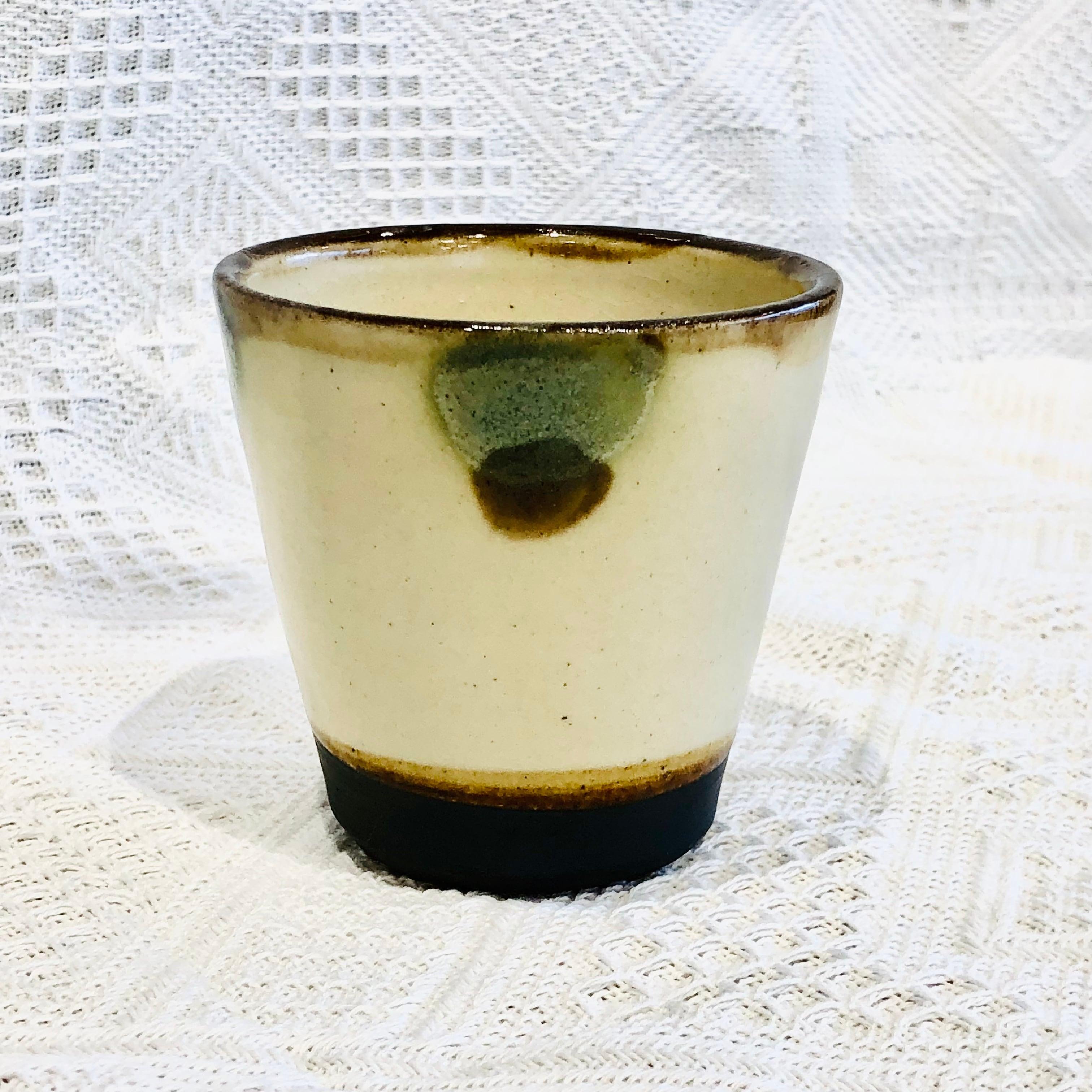 『ノモ陶器製作所』フリーカップ大緑