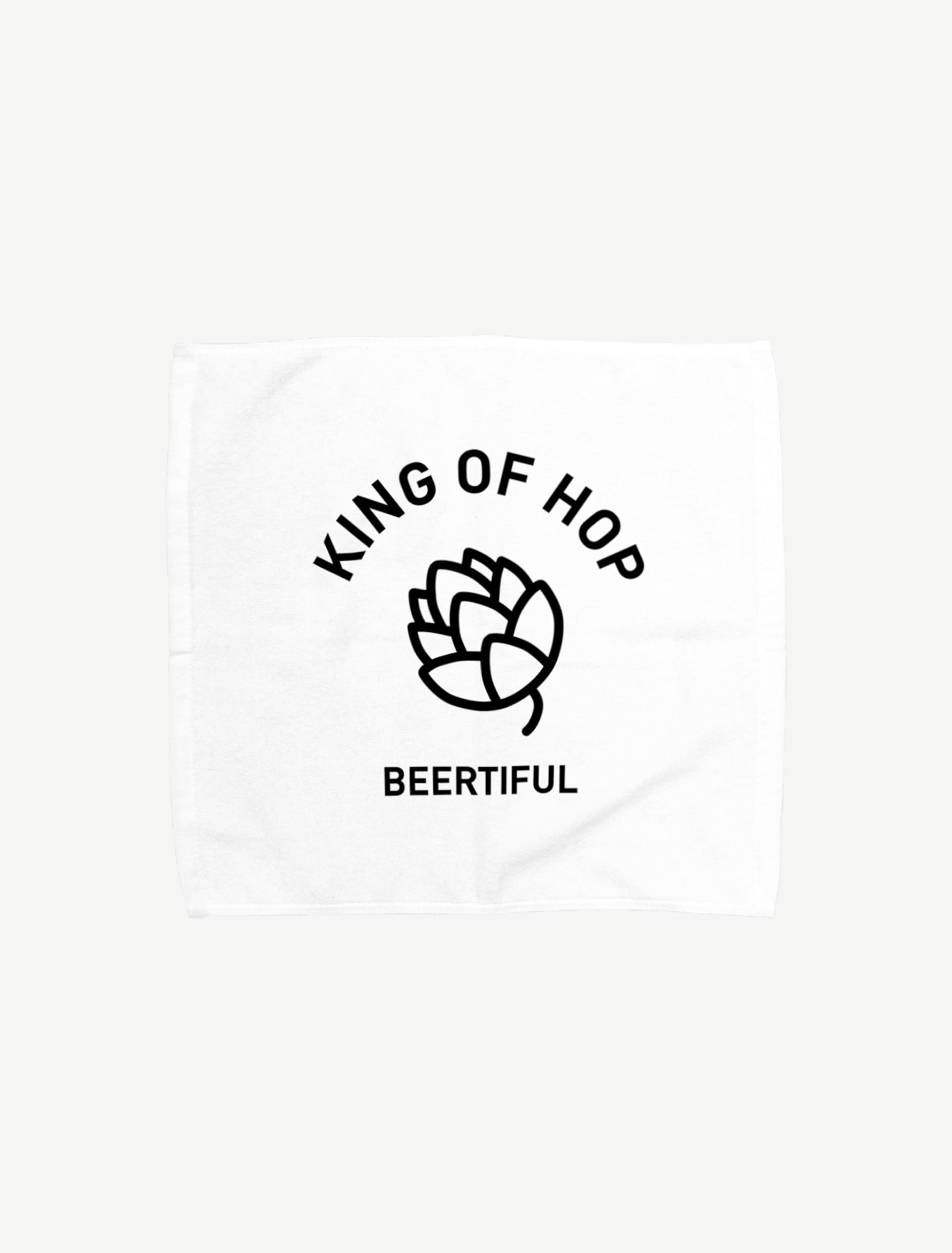 【KING OF HOP】タオルハンカチ(Lサイズ)